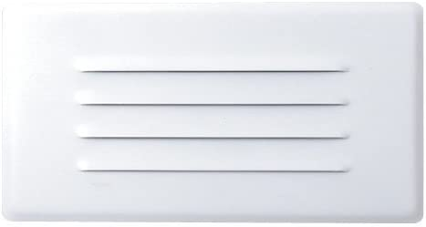 Elco Lighting ELST42W Incandescent Step Light with Louvered Faceplate