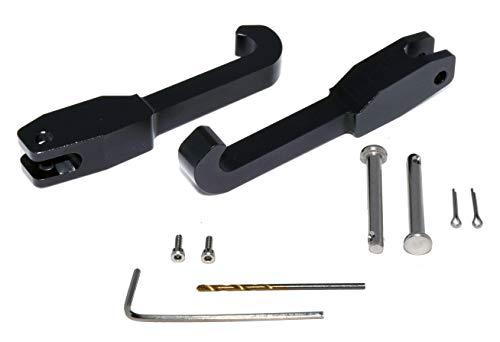 Billet aluminum convertible top latch rebuild kit for 2000-2008 Toyota ()