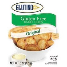 Glutino Original Bagel Chips 6 oz. (Pack of 6) by Glutino