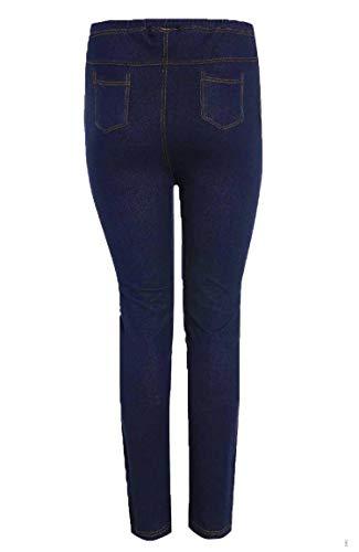 Jeans Bleu Skinny Femme Marine Abz dvqHtwt