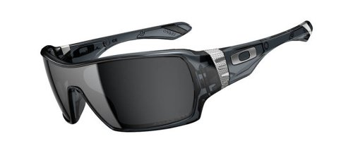 cheap oakley sunglasses quality  oakley offshoot oo9190 05 polarized wrap sunglasses,crystal black,44mm