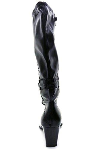 Tamaris muy botas para mujer zapatos negro - negro