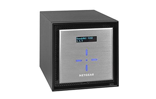 NETGEAR ReadyNAS RN524X00 4 Bay Diskless Premium Performance NAS, 40TB Capacity Network Attached Storage, Intel 2.2GHz Dual Core Processor, 4GB RAM by NETGEAR (Image #2)