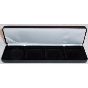Coin Display Case by Lighthouse NobileQ4 Coin Box for Four Quadrum Holders