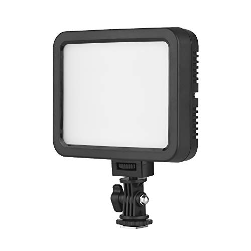 Docooler Color Video Light White+RGB Photography Dimmable Fill Light 360 3200K-5700K Ra95 1500 Lumens for Canon Nikon DSLR Camera Camcorder