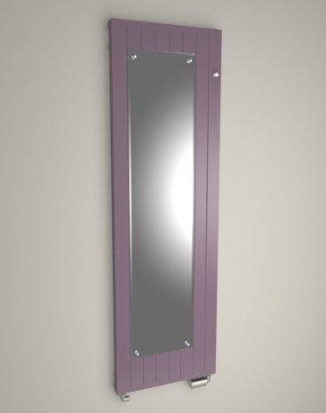 Onyx Mirror – Radiador Decorativo con espejo para un estera o un Dressing – diseño moderno