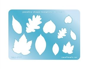 Cool Tools - Jewelry Shape Template - Leaves 1