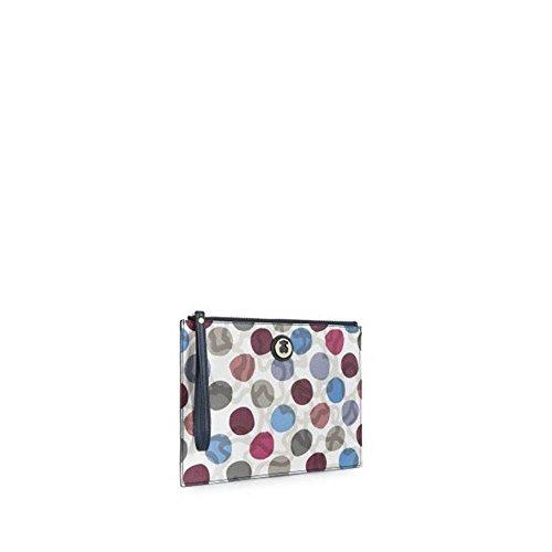 Borsa clutch bag TOUS KAOS DOTS 695800021 grey-multi