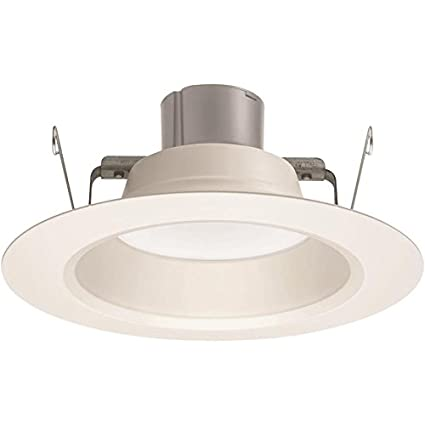 f2bd5fcc505 Amazon.com  Juno 2-Pack 65W 5 in. or 6 in. White Dimmable LED Recessed  Retrofit Downlight  Kitchen   Dining