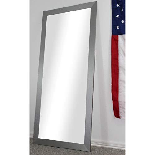 Rayne Mirrors American Made Full Body/Floor Length Mirror Platinum 32 x 70.5