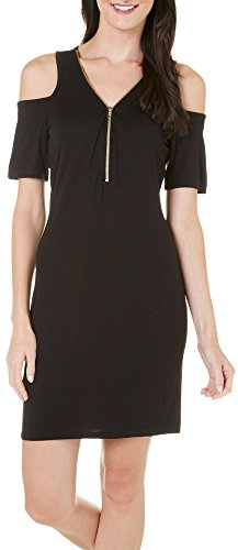 Buy french atmosphere black dress - 1