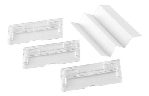 50 x Rexel Suspension file Card Inserts White 78401