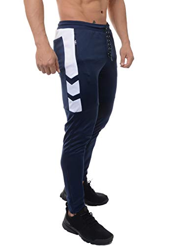 949d0523ea8 YoungLA Track Pants for Men Workout Athletic Gym Joggers Lightweight  Training Sweatpants Tapered Fit 205