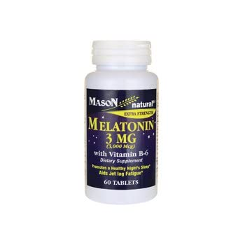 Extra Strength Melatonin 3 Milligrams 60 Tabs