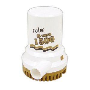 - Rule 04 1500 Old Series Non-Automatic Submersible 12V DC Bilge Pump