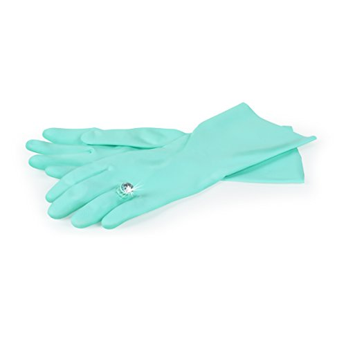 Fred Beauty Clean Rubber Dish Washing Gloves by Fred & Friends