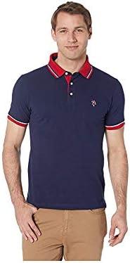 U.S. Polo Assn. Polo de piqué para Hombre - Azul Marino - Large ...
