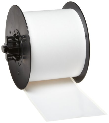Brady 113183 MiniMark 100' Length x 3'' Width, B-595 Vinyl, White Indoor/Outdoor Industrial Label Printer Super Tough Tape by Brady