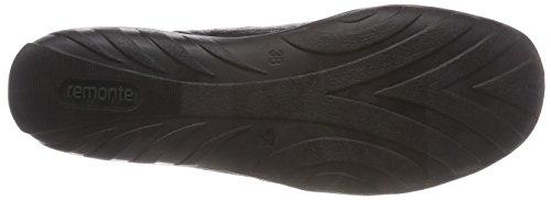 R3416 Ginnastica Basse schwarz Remonte schwarz altsilber Scarpe Nero 02 schwarz Da Donna qHdHp6xCw