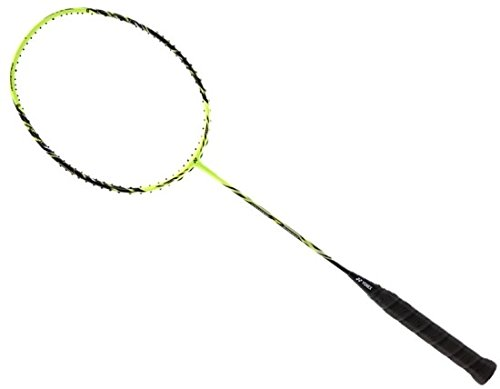 YONEX NANORAY Z SPEED / G5 (81mm) grip size / 3U (Ave. 88g) weight / Badminton Racket / the world fastest racquet / boost distance on backhand / better forehand clear / Lime yellow color