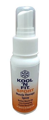 - Kool 'N Fit Sport Muscle Therapy Spray, 2 oz Spray Bottle