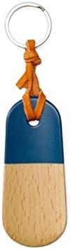 ウッデンシューホーン キーチェーン Wooden Shoehorn Keychain GZ105NV ネイビー