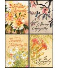 UPC 730817345284, Petals of Comfort - Scripture Greeting Cards - KJV - Boxed - Sympathy