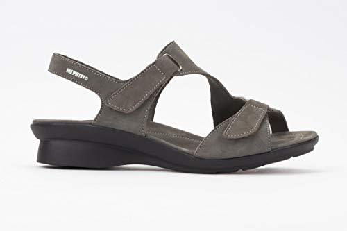 - Mephisto Women's Paris Sandals Pewter Nubuck 38 (US Women's 8)