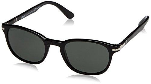 Unisex Sol Gafas Persol de 901458 Black Adulto aqtpvBWz