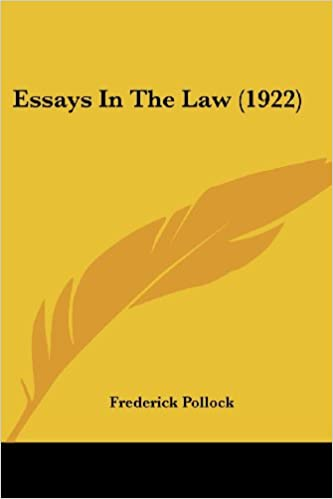 Essays in the Law (1922)