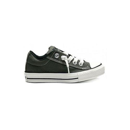 - Converse Kid's Chuck Taylor All Star Street Slip Fashion Sneaker Shoe - Charcoal - Boys - 6