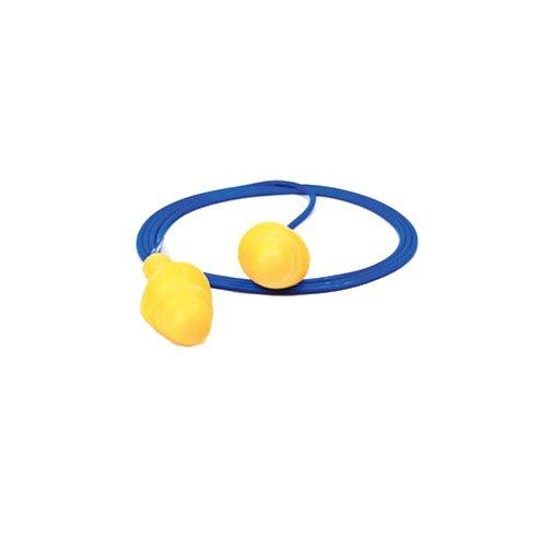 Use E-A-R UltraFit Triple Flange Foam Corded Earplugs (200 Pair Per Econopack Dispenser Box) [Set of 200]