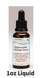 Newton Labs Homeopathics Remedy Kids Hypercalm Mental Focus1oz Liquid (2 Pack) by H&M Herbs - Newton Homeopathics