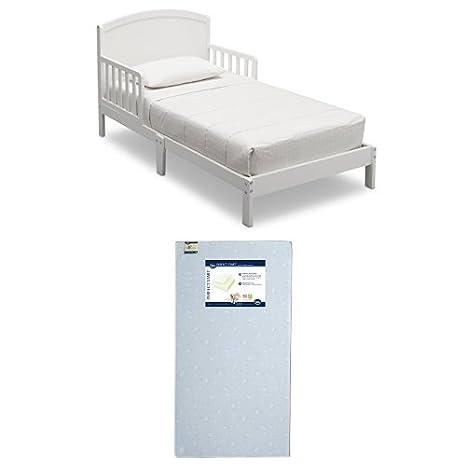 Delta Children Abby Toddler Bed, Grey 540660-026