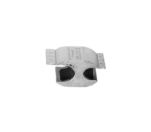Burndy YHO-150 HYCRIMP, Handtool/Hydraulic 7 Connector, 0.260'' - 0.419'' Wire Diameter Range, 1-2/0 Sol. Run Conductor, 6-1/0 Sol. Tap Conductor, 0.70'' Width, 1.50'' Length, 1.12'' Height (Pack of 25)