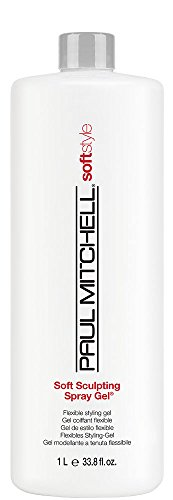 Paul Mitchell Soft Sculpting Spray Gel Unisex, 33.8 Ounce