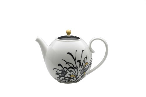 Denby Monsoon Home Chrysanthemum 2-1/4-Pint Teapot