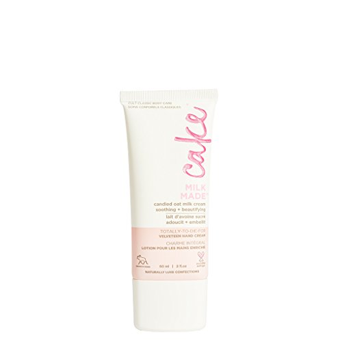- Cake Beauty Milk Made Velveteen Hand Cream, 2 Ounces