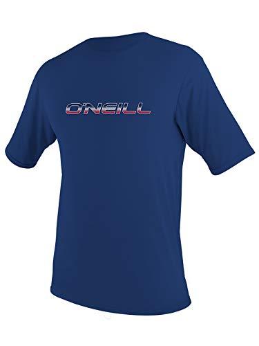 O'Neill Kids Basic Shortsleeve sunshirt 10 Navy (3422IS)