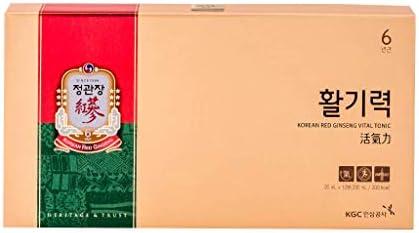 KGC Cheong Kwan Jang [Hwal Gi Ruk] Korean Red Ginseng Vital Tonic for Wellness Recovery – 10 Bottles
