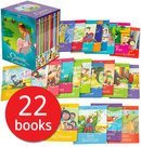 Ladybird Tales 22 Books Collection Box Set Pack (Cinderella, Gingerbread Man, Goldilocks & Three Bears, Hansel & Gretel, Jack and the Beanstalk, Little Red Riding Hood, Rapunzel, Snow,white and the Seven Dwarfs, Three Billy Goats Gruff, Etc)