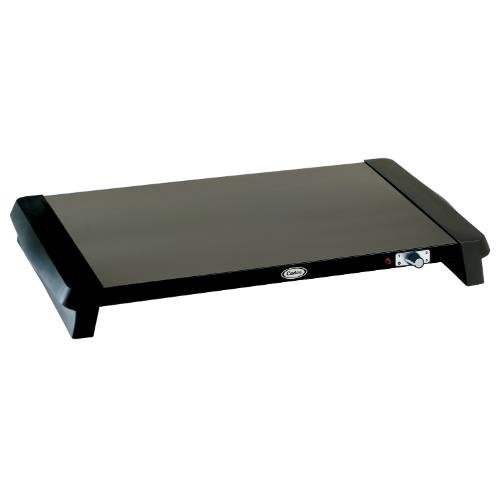 Cadco Black Countertop Warming Tray, 25 1/4 x 2 1/2 x 15 1/4 inch -- 1 each. by Cadco