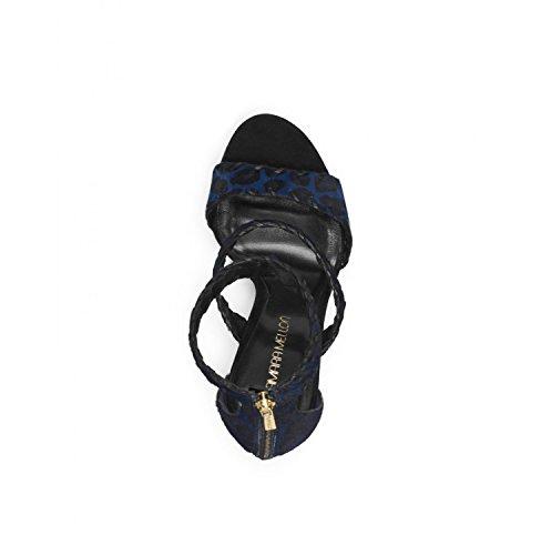 Black Print Chief Leopard Sundance Designer Choo Jimmy Tamara Mellon Sandals Blue xA7SvwqwOB