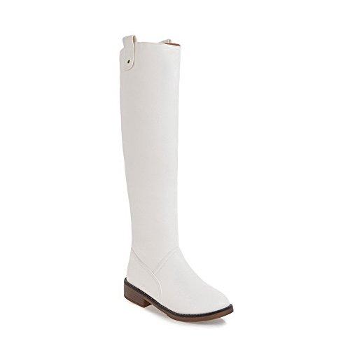 Abl10514 Sandales Femme Blanc Compensées Balamasa SZqdHwRq