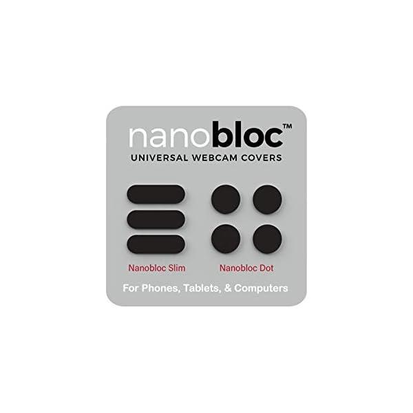 Eyebloc Nanobloc Universal Webcam Covers Privacy Protection Accessory No Residue Application Safe Screen Closure Dots