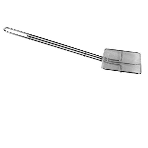 Excellante Square Nickel Plated Wire Skimmer, 7
