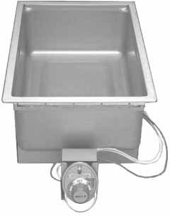 Wells SS-206T Food Warmer top-mount built-in electric 12'' x 20'' pan opening ther