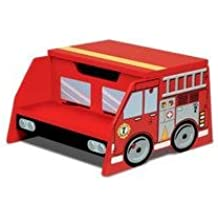 Firetruck Step N Store Beds, Bedding, Furniture, Sheets