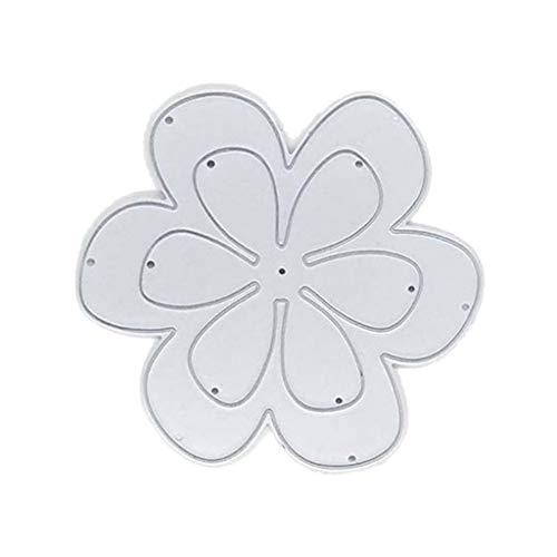 Flower Cutting Dies Stencil for Scrapbooking Album Stamp Paper Card Embossing Crafts Decor