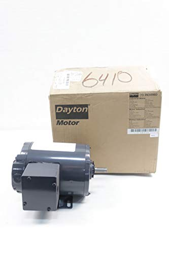- DAYTON 3N349BD Industrial Motor 3PH 1/4HP 1725RPM 208-230/460V-AC D650812